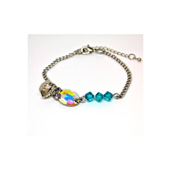 Navy CABOCHON bracelet