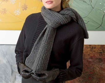 Classic scarf, chunky thick cashmere luxury cashmere scarf