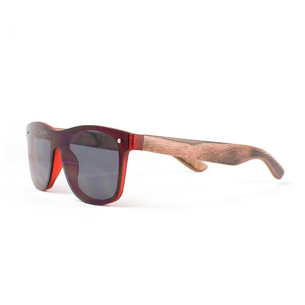 wooden sunglasses wood frame sunglasses neon grey handmade neon sunglasses by winkwood - Wood Framed Sunglasses