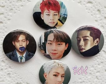 Jooheon Monsta X Button Set