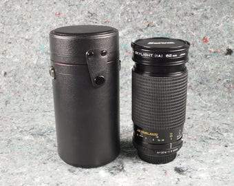 Sanwa 35-200mm f 3.8-5.3 macro Zoom lens for K mount. Mint condition!