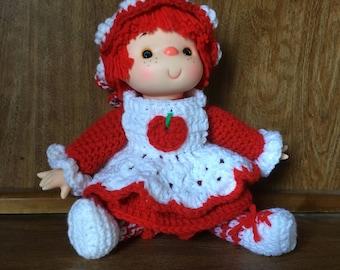 Cherry Cobbler Doll Pattern