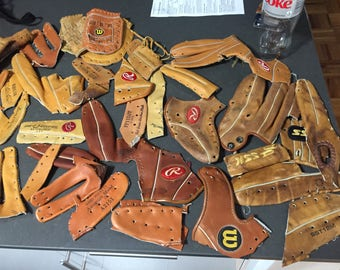 Custom Bi-Fold Coach inspired baseball glove Wallet