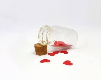 """Jar """"Leave a romantic message"""""""