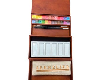 Wooden Sennielier Nested Paint Box - 2016 Limited Edition
