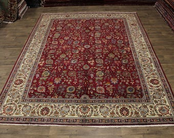 Charming Design S Antique Handmade Tabriz Persian Area Rug Oriental Carpet 10X13