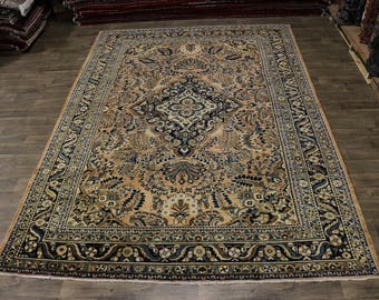 Spectacular Antique Muted Lilian Hamedan Persian Rug Oriental Area Carpet 10X14