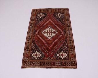 Enchanting Unique Handmade S Antique Shiraz Persian Rug Oriental Area Carpet 5X8