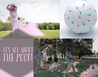 GOLF BALL Gender Reveal: Golf Ball Pack! Ships Same Day! Gender Reveal Golf Ball