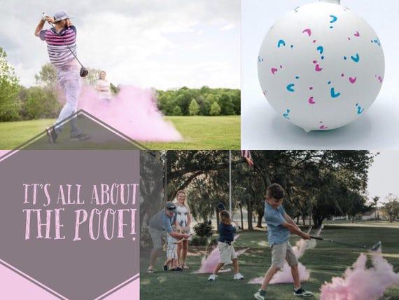 GOLF BALL Gender Reveal: Golf Ball Pack! Ships Same Day! Gender Reveal Golf Ball