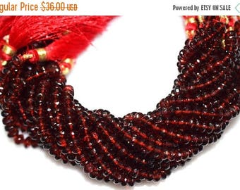 50% OFF AAA Quality Mozambique Garnet Rondelle Beads 8 Inch Strand ,Mozambique Garnet Faceted Rondelle Beads , 5.75 mm - MC232