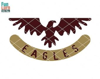 Eagles Football SVG, Football season , Eagles, Football, Mascot, svg png dxf eps zip, svg file