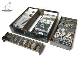 Organizer for Dead of Winter The Long Night™ Board Game, Dead of Winter™ Insert, Board Game Organizer, Board Game Insert, Wooden organizer