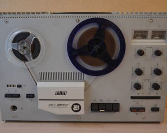 """Tape recorder """"Diktor 203-1"""" USSR  In working condition"""