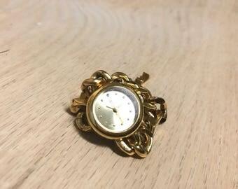 Imperial Quartz Gold Watch