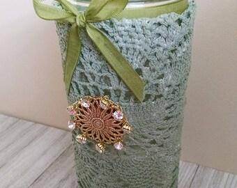 Free Shipping + 50% Off,Unique Shabby Chic Vase,Farmhouse Decor,Flower Decorations,Floral Arrangements,Floral Supplies,Arts & Crafts Supply