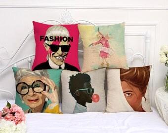 World inspired personalities pillowcases