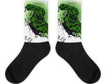 Hulk Smash Socks