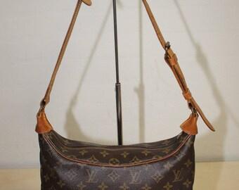 Authentic Louis Vuitton Monogram Boulogne 30 Shoulder Bag Handbag (ref-1530)