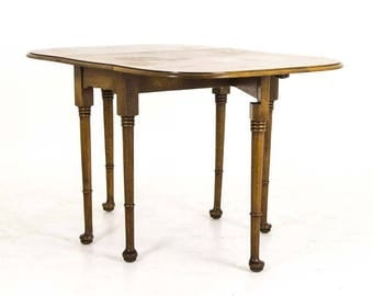antique gateleg table drop leaf table scotland b801