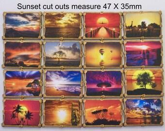 SUNRISE, SUNSET. Rope Frames