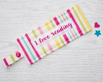 Personalised Handmade Bookmark - fabric bookmark - bookmark - gift for children - teacher gift - mother's day gift - stocking filler