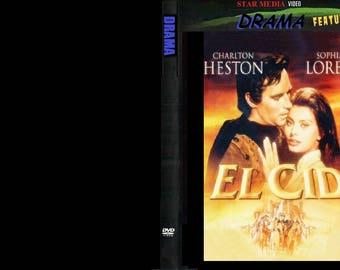El Cid  (DVD 1961 Drama)