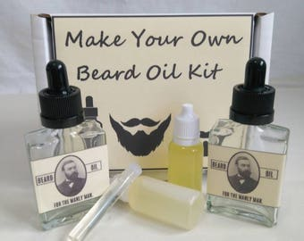 Make your own beard oil 30ml kit, pick your own scent.