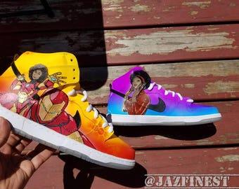 Custom dunks sb or Nike af1s