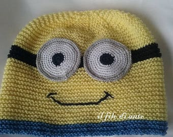 Knitted Hat MINION