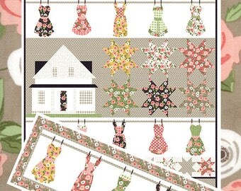Farmhouse pattern by Coach House Designs, quilt pattern