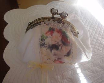 coin purse or small purse sticker print