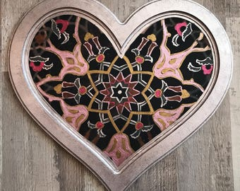 Wooden tray, vanity trays,service trays, heart tray, persian art
