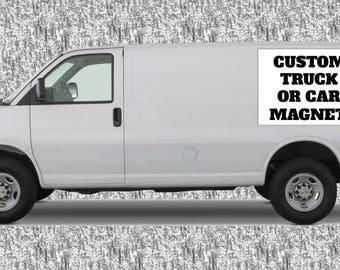 Custom Car Magnet Etsy - Custom car magnets ovalx custom magnets oval magnets outdoorcar magnetsmil
