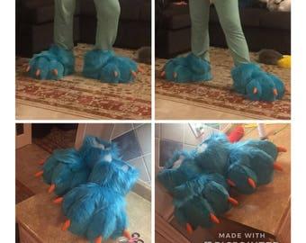 Fursuit Custom Feet / Hooves