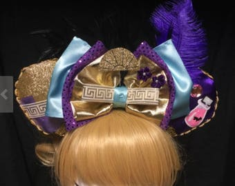 Emperors New Groove Yzma and Kronk Inspired GLOW-in-the-DARK Cosplay Ears