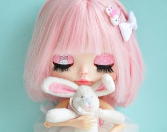 Free shipping!!! Custom Blythe - Honney Bunny