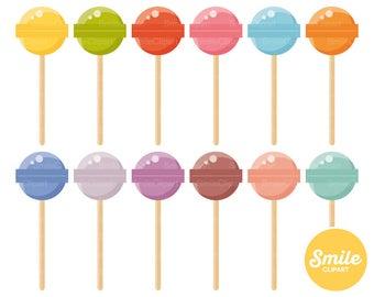 Lollipop Clipart Illustration for Commercial Use | 0540