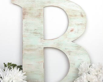 Wooden Wall Letters, Wooden Letters for Nursery, Wooden Monogram Letters, Painted Wooden Letters, Wooden Letters for Wedding, Wooden Letters