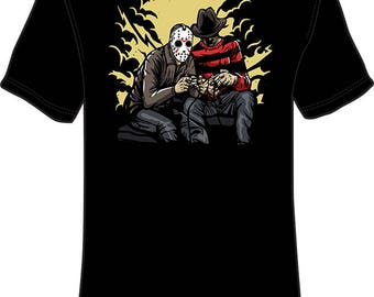 Night Gamer's Jason-Freddy T-Shirt
