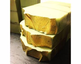Crisp Anjou Pear, Vegan, Handmade Soap