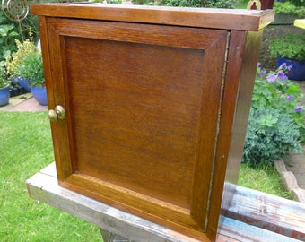 "A Wee Wall Cabinet handmade from 50""s or 60's - rescued from demo site"