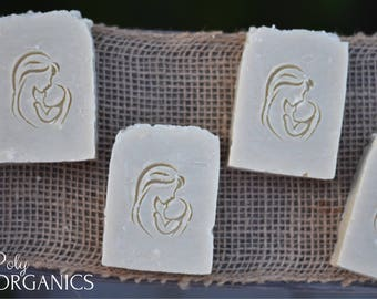 Organic Baby Soap (olive oil soap, castile soap, vegan soap, made in Canada)