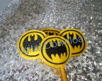 Supper Bat Pencil Topper