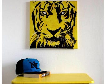 Contemporary Tiger Painting