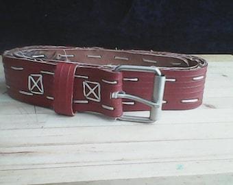 Upcycled Fire hose Belt
