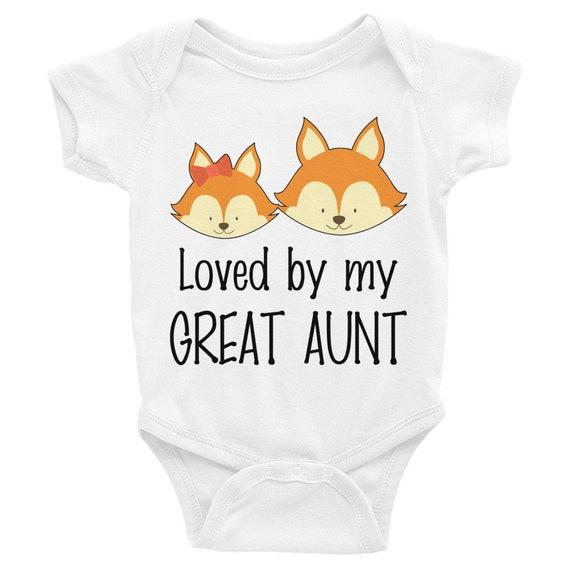 Baby clothes, baby shower gift, baby girl clothes, baby bodysuit, baby gift, my aunt loves me, aunt onesie, auntie onesie, aunt onesies