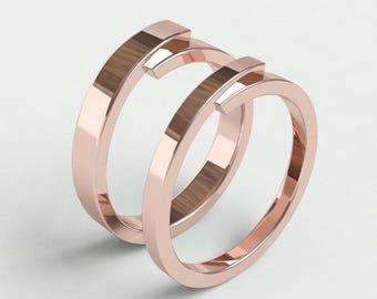 Genial Wedding Ring   Simple Wedding Bands   Mobius Band