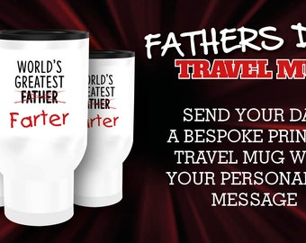 Fathers Day Travel Mug