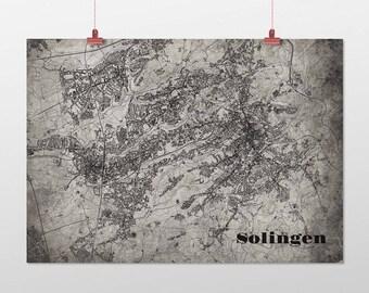Solingen - A4 / A3 - print - OldSchool
